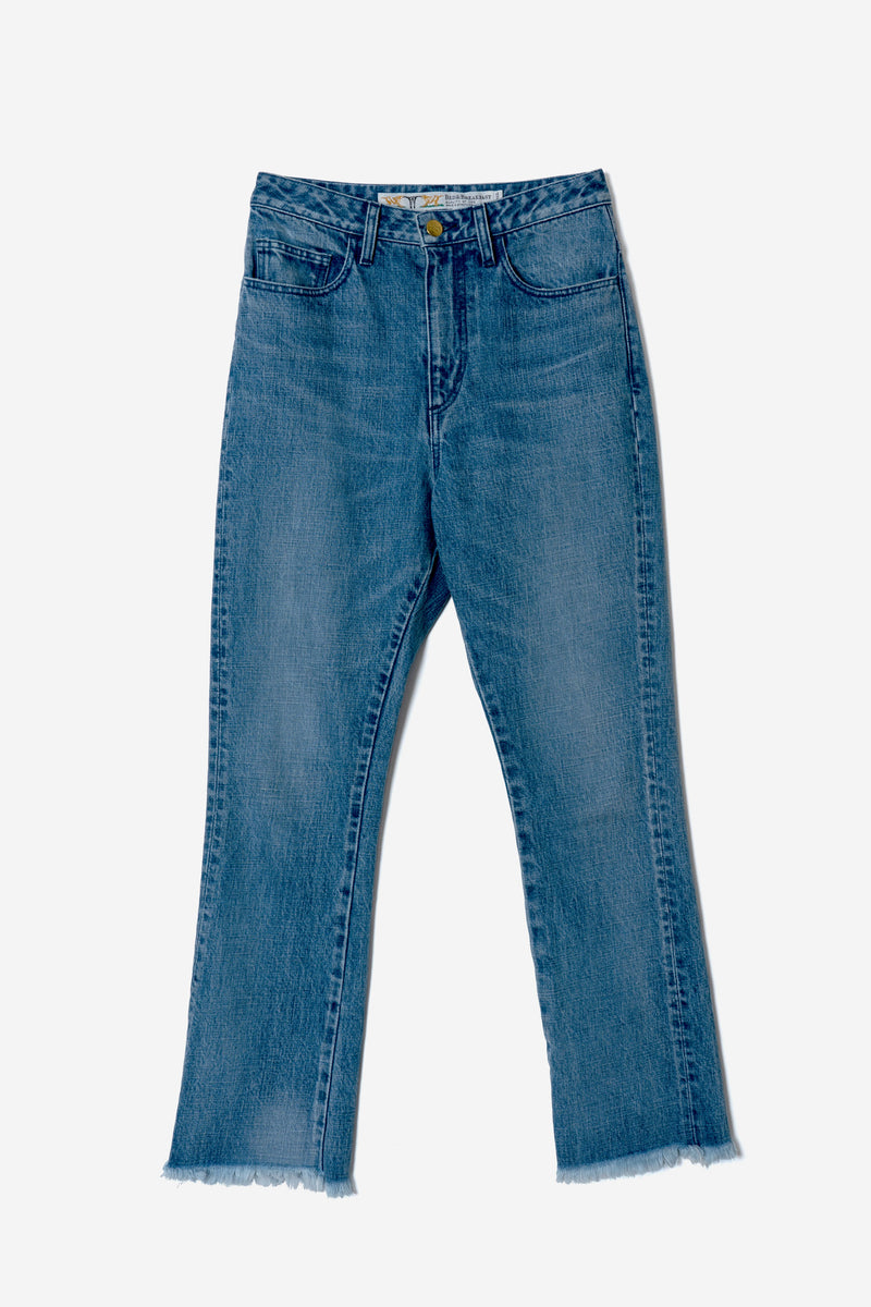 Straight Leg Denim in Indigo