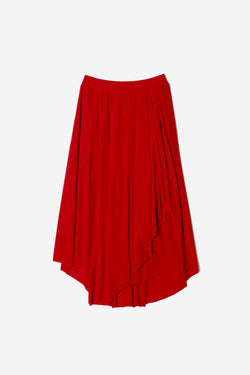 Limited Cosmorama High Gauge Skirt in Red