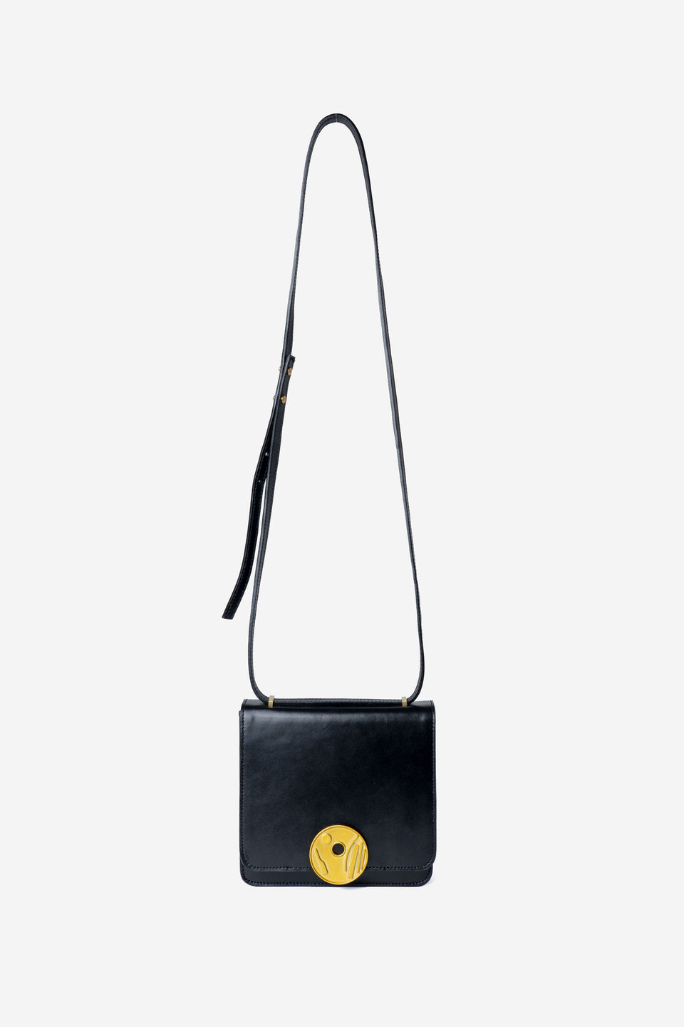 Moon Button Smooth Pochette