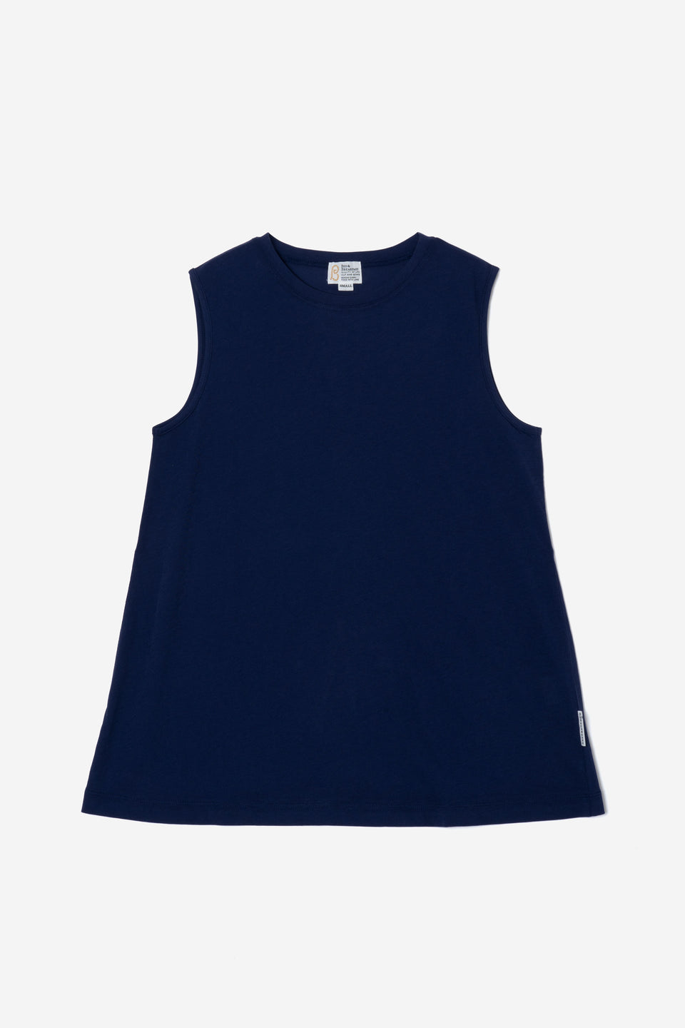 Technorama Standard Drape Tank in Navy