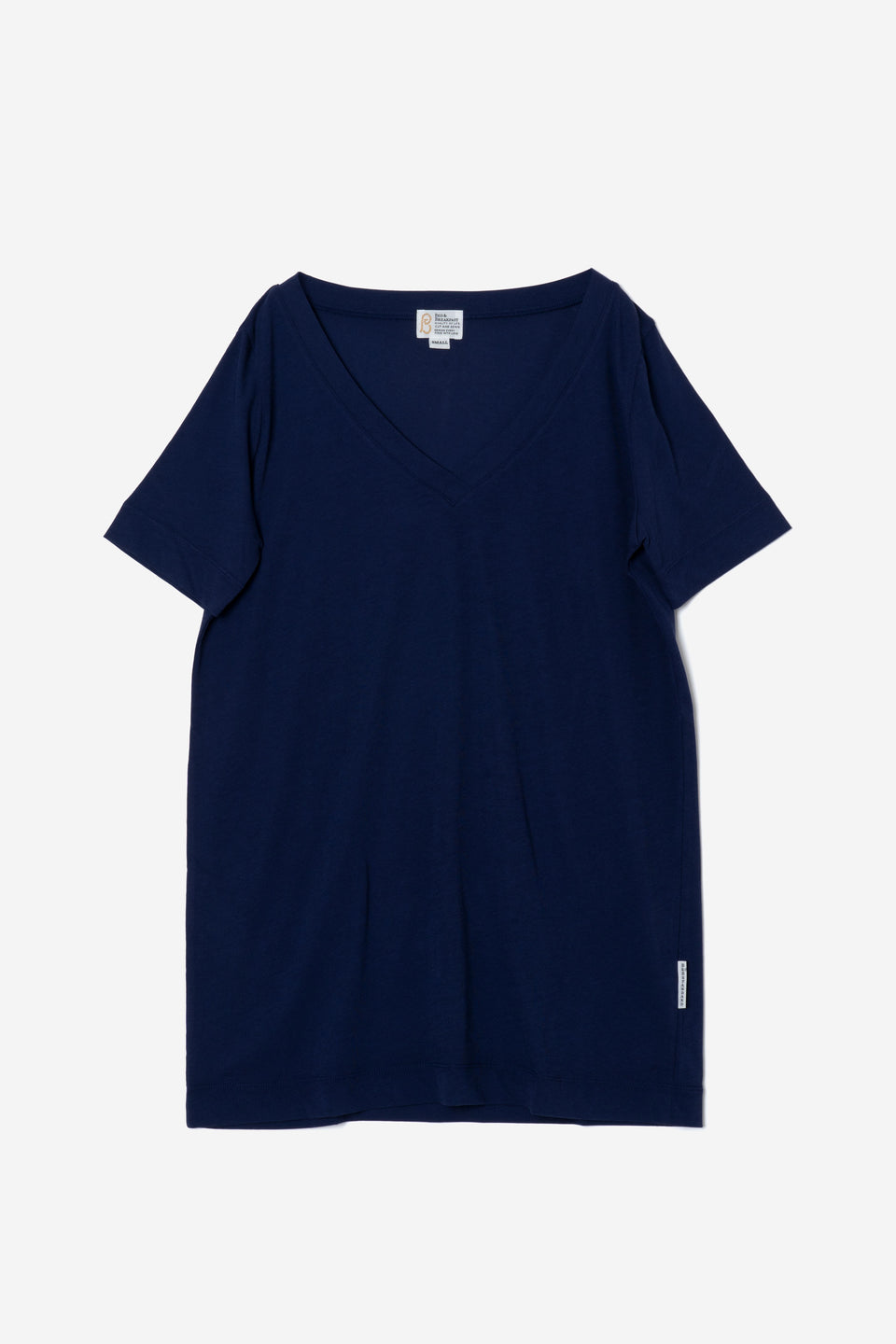 Technorama Standard V-neck Tee Dress in Navy