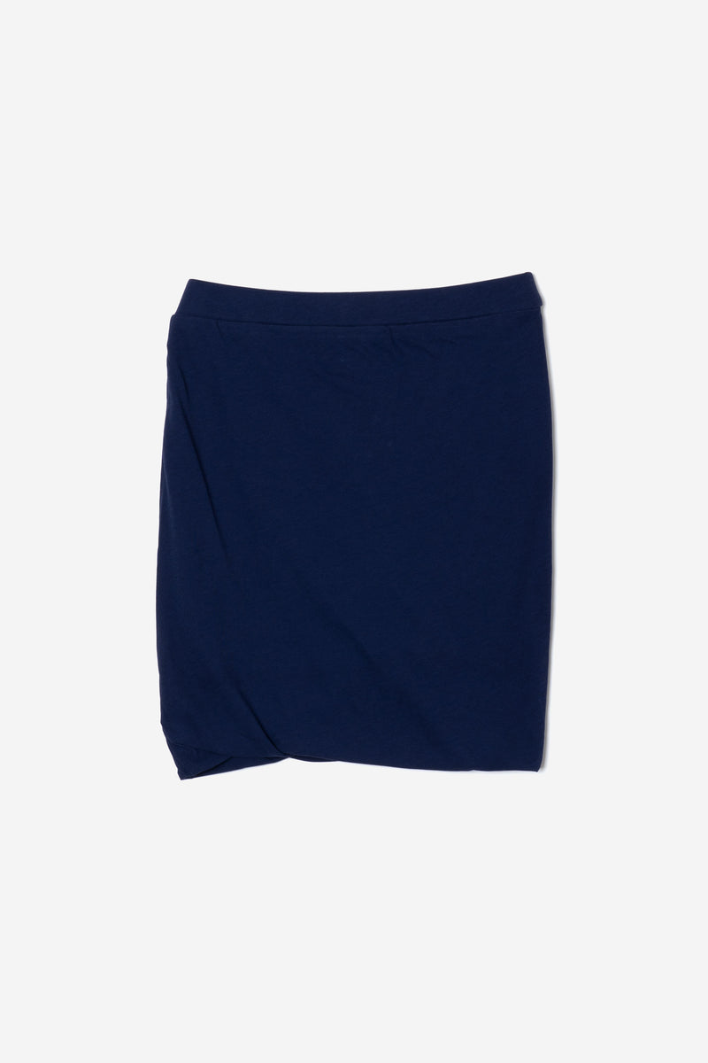 Technorama Standard Mini Skirt in Navy
