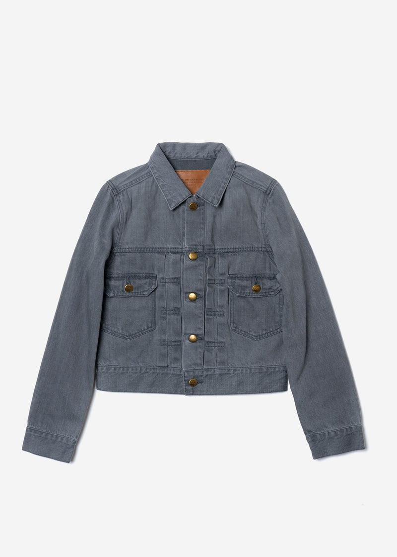 Standard Denim Jacket Gray