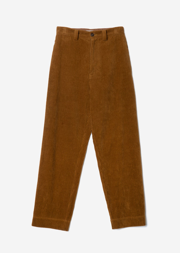 Classic Corduroy Balloon Pants in Camel