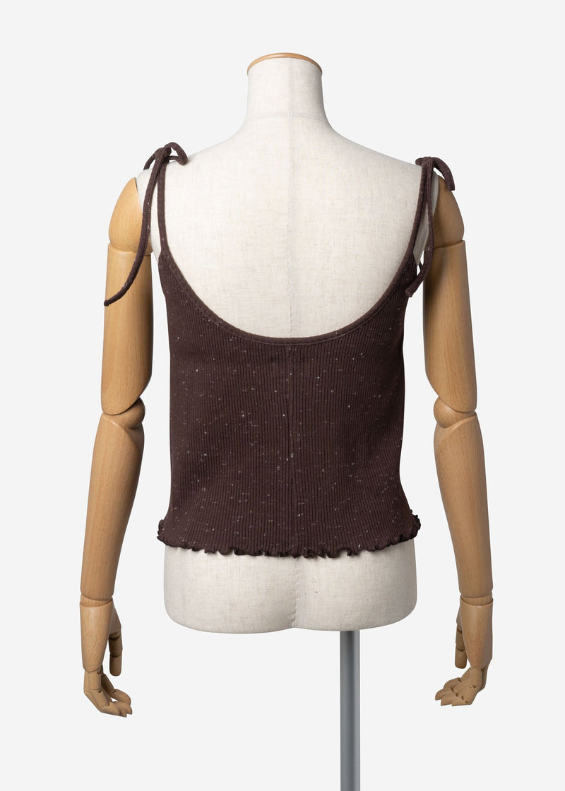Stardust Camisole in Brown