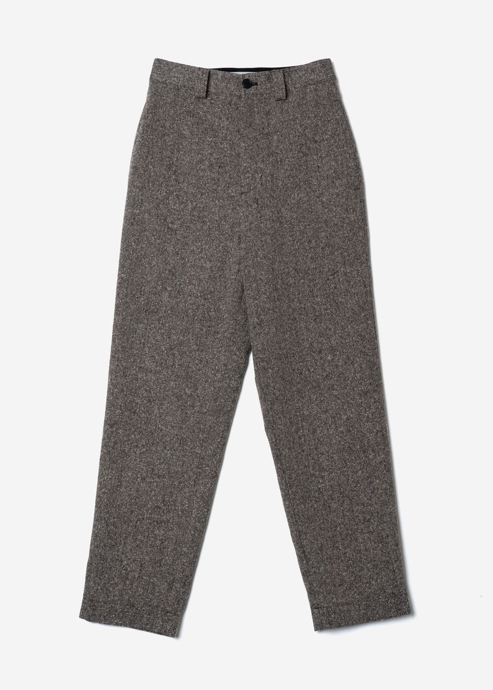 Jazz Nep Tweed Balloon Pants In Black Mix