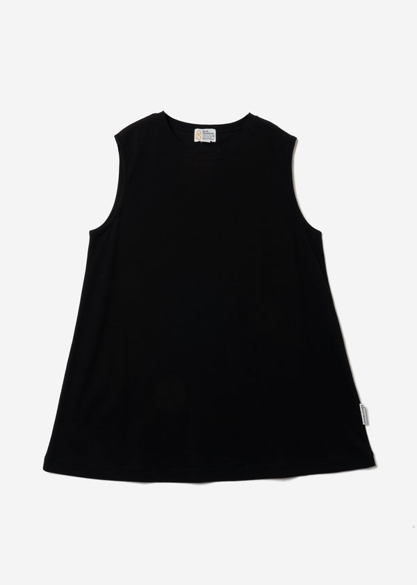 Technorama Standard Drape Tank in Black