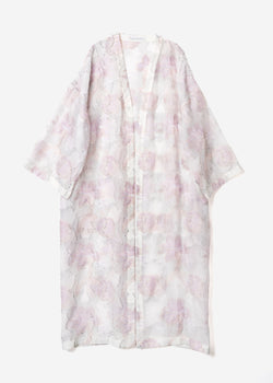 Limited Pastel Jacquard  Gown in Other