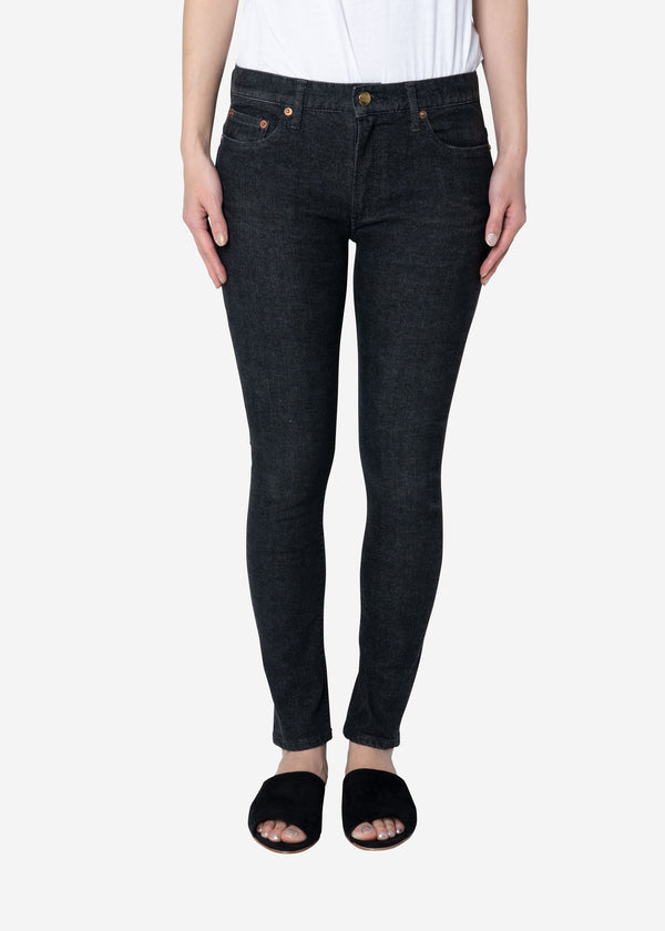 Standard High Stretch Denim in Black