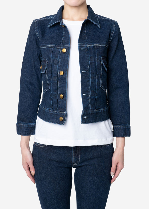 Standard Denim Jacket One Wash