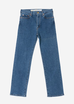 Standard High Stretch Mom's Denim in Indigo