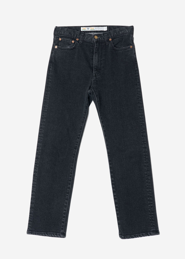 Standard High Stretch Black Mom's Denim