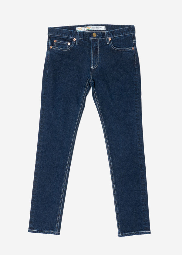 Standard High Stretch One Wash Denim in Indigo