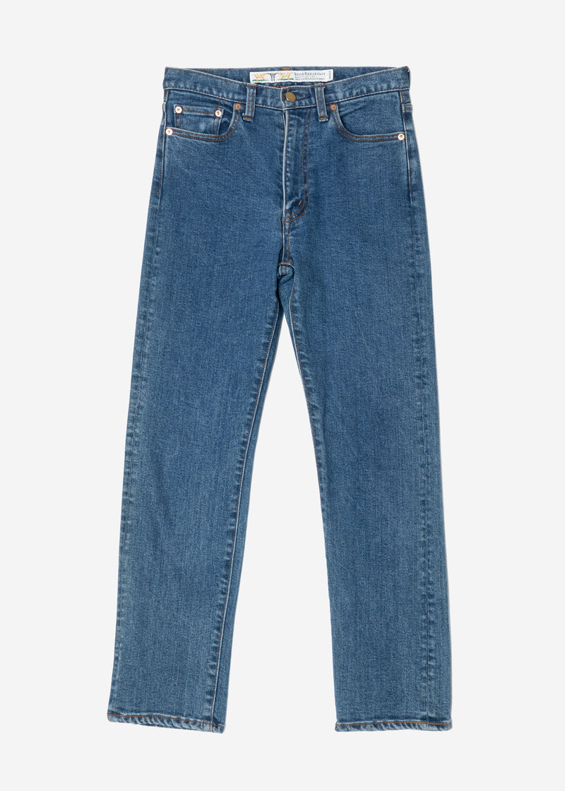 Standard Straight Mom's Denim in Indigo