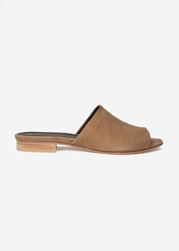Suede Sandals in Brown