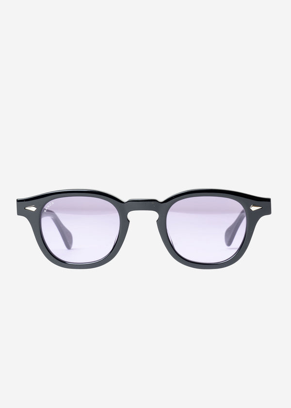 Jurias Tart×Bed&Brekfast Sunglasses in Black Frame×Purple Lens