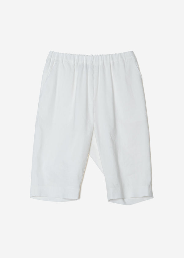 Washable Bio ‎Half Pants in White