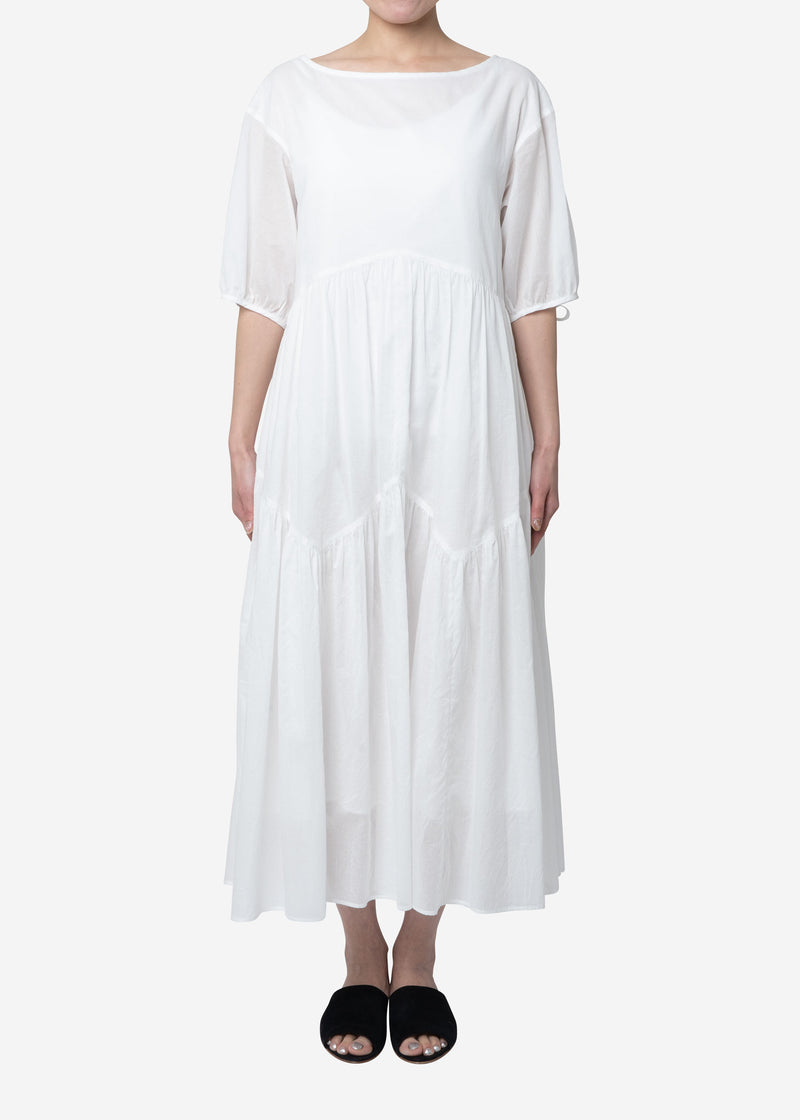 Vintage Washer Dress in White