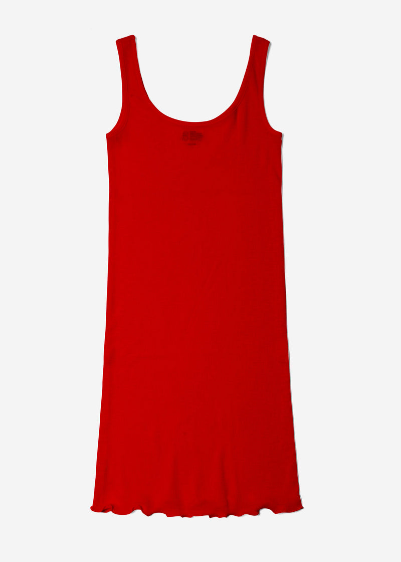 Cosmorama Wool Slip in Red