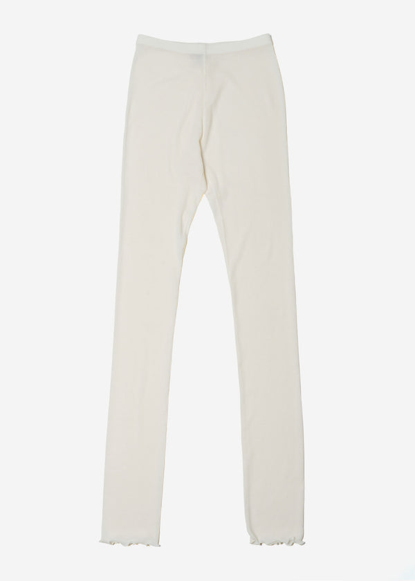 Cosmorama Wool Leggings in Off White