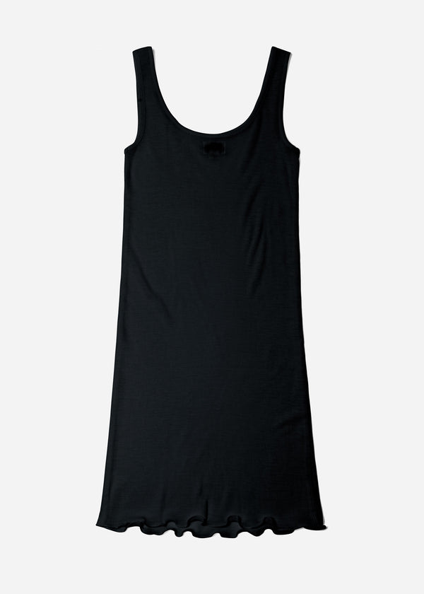 Cosmorama Wool Slip in Black