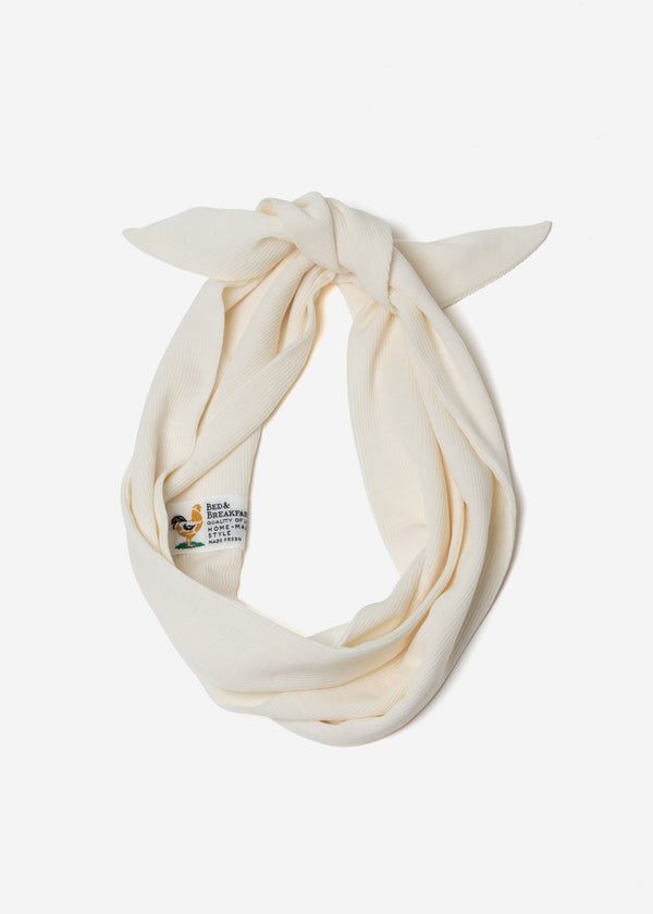 Cosmorama Wool Hair Band in Off White