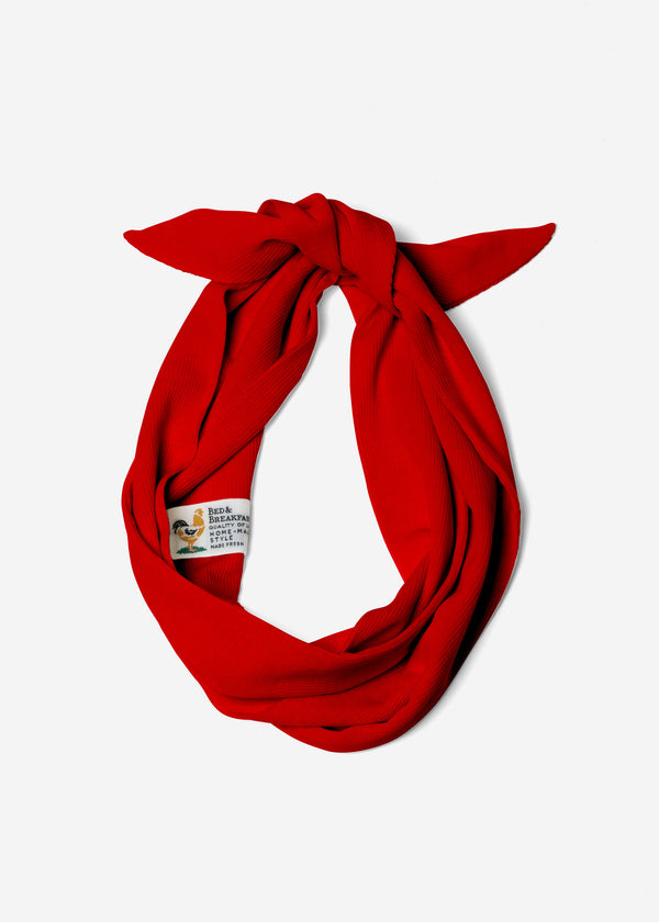 Cosmorama Wool Hair Band in Red