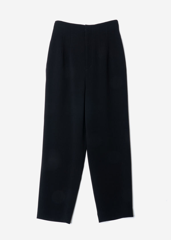 Double Stretch Cloth Pants in Black
