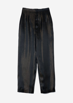 Sparkle Lame Pants in Black