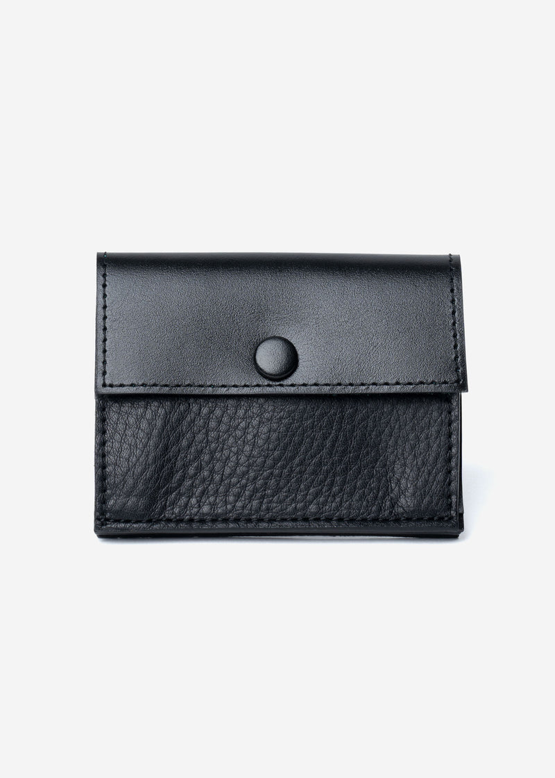 Color Scheme Mini Wallet in Black