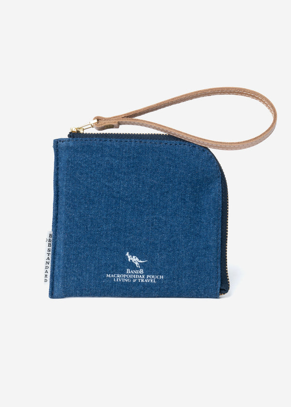 Macropodidae Wallet Mini in Indigo