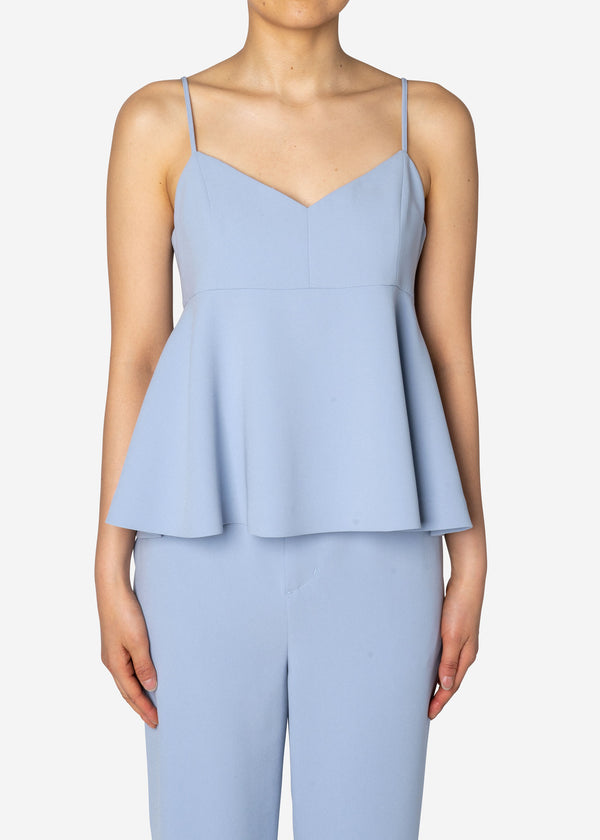 Double Stretch Cloth Camisole in Lt Blue