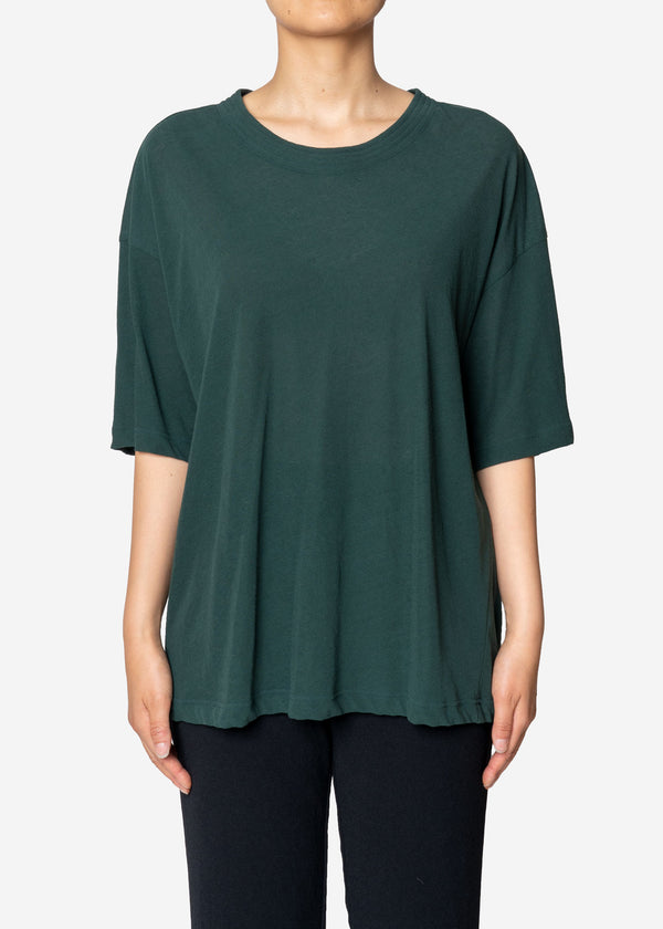 Technorama Cotton Linen Big T-Shirts in Green