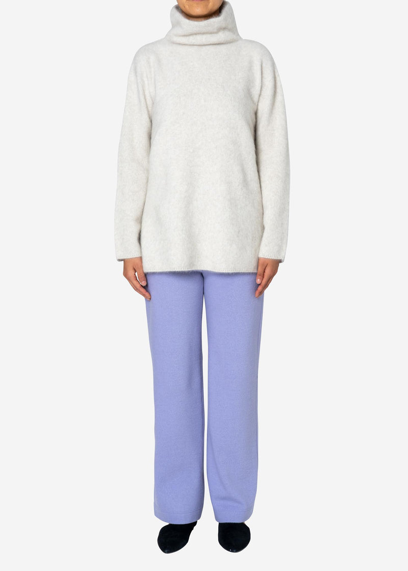 Balancircular Air Melton Pants in Lavender