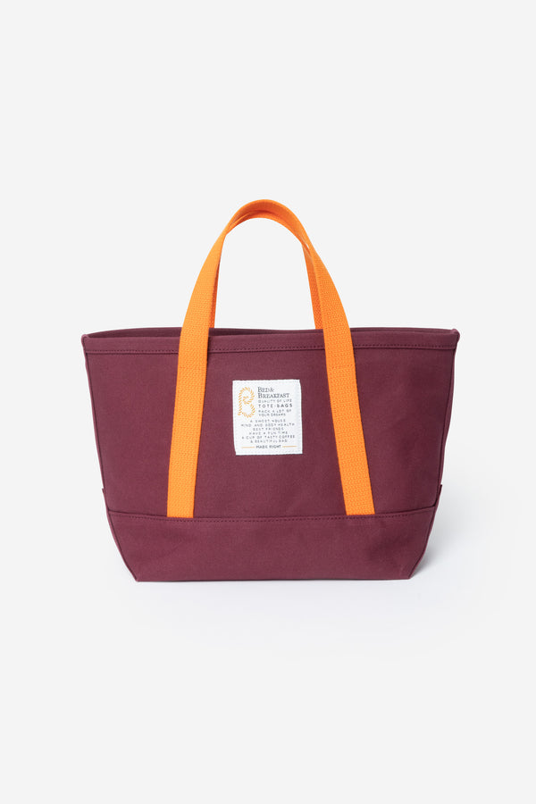 Limited Tote Bag Small in Wine Mix