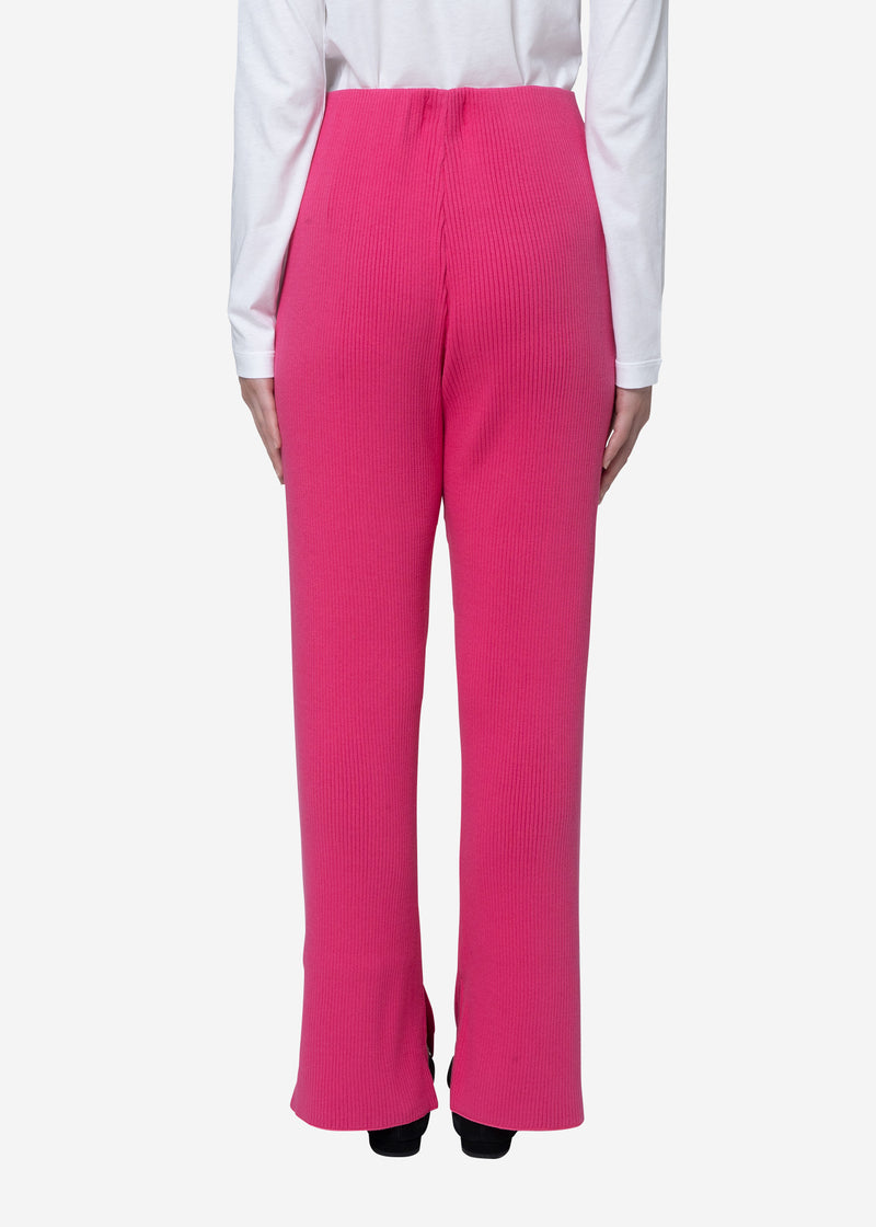 Exclusive Rib Pants in Pink