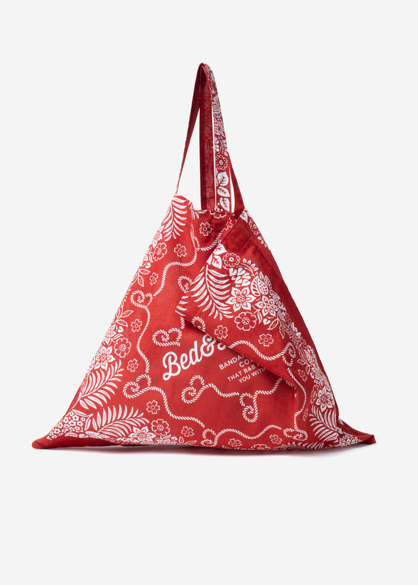 Bed&Breakfast Bandanna Bag in Red