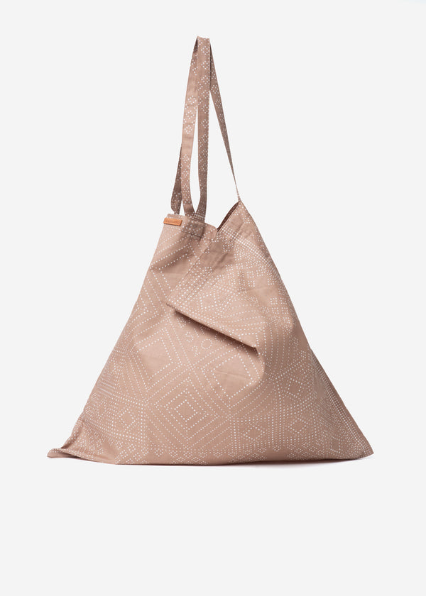 Dot Bandanna Bag in Beige