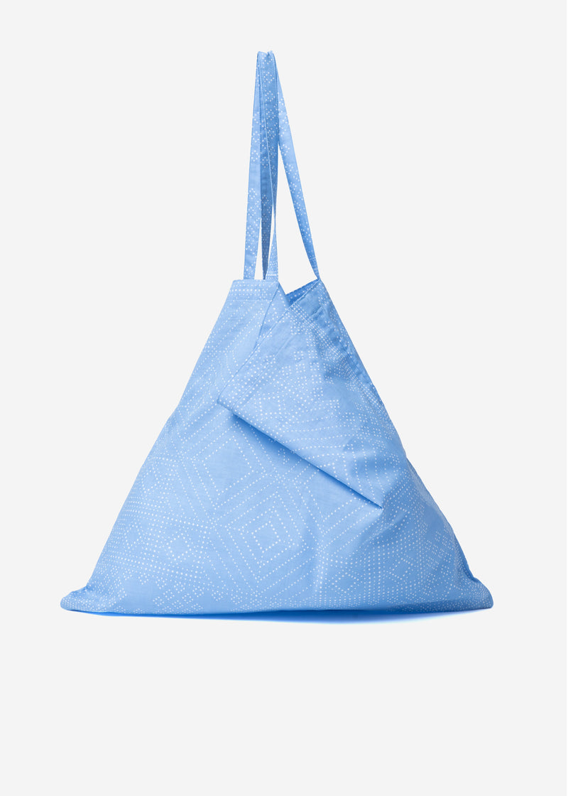 Dot Bandanna Bag in Blue