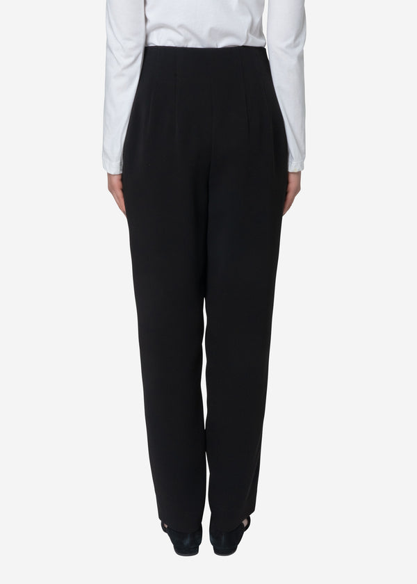 Standard Double Cloth Pants in Black