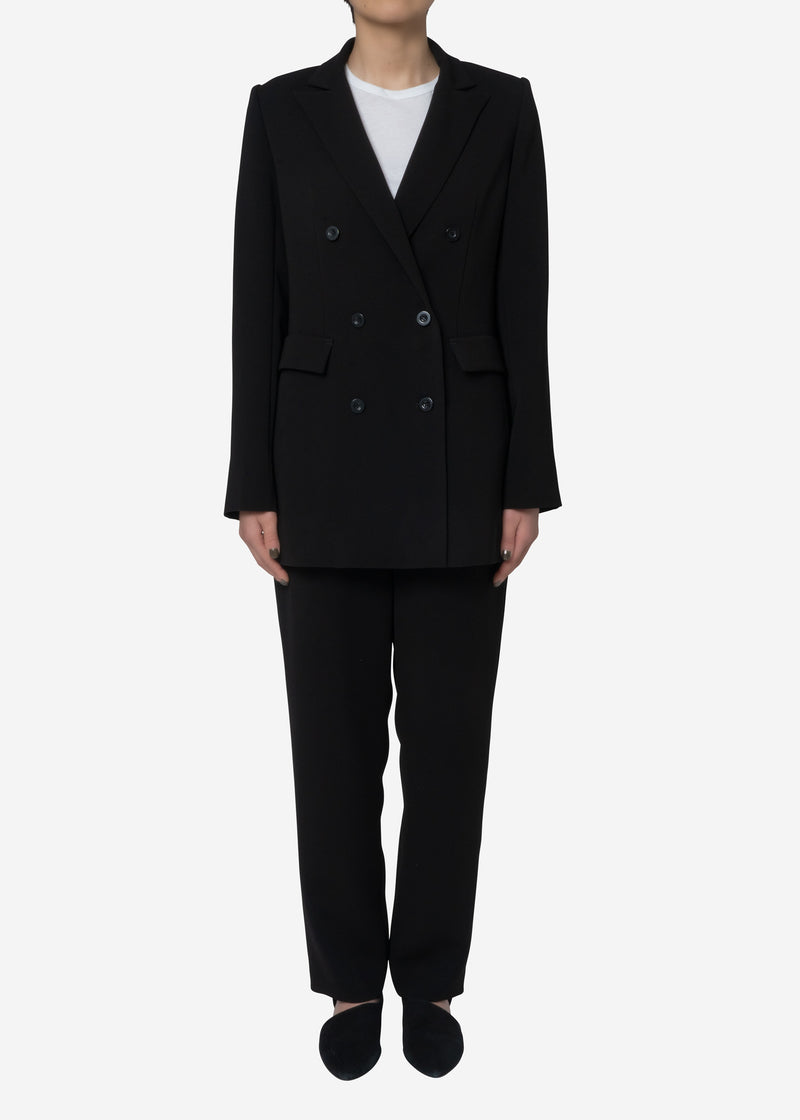 Standard Double Cloth Jacket in Black