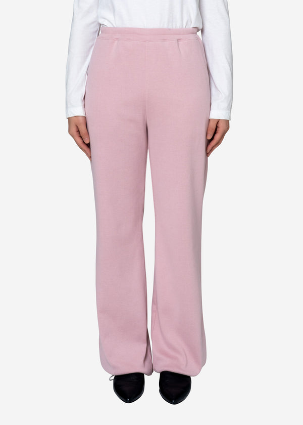 Natural Rib Pants in Pink