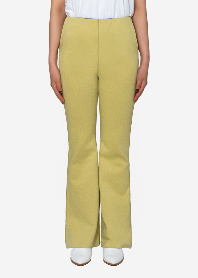 High Gauge Bonding Spring JQ Pants in Light Gray