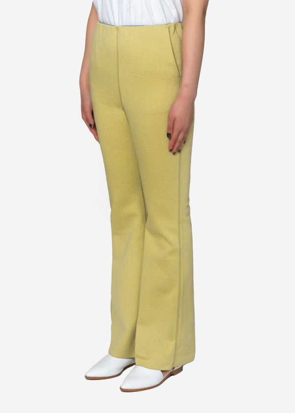 High Gauge Bonding Spring JQ Pants in Lime