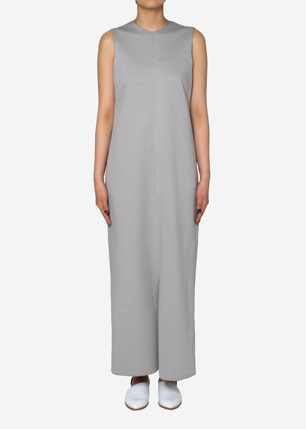 High Gauge Bonding Spring JQ Dress in Light Gray