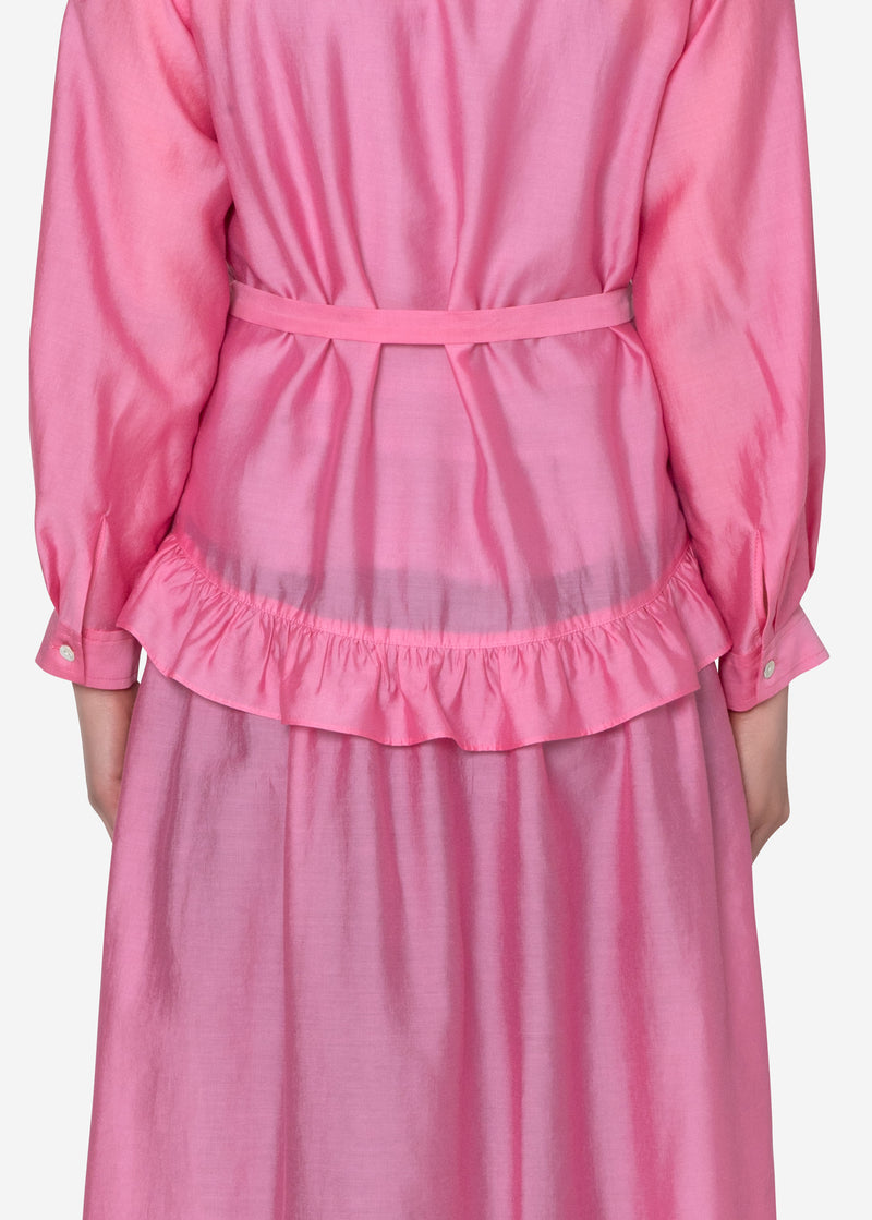 Bio Washer Dress in Pink