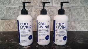 "CBD Living - 250mg ""Unscented"" Lotion"