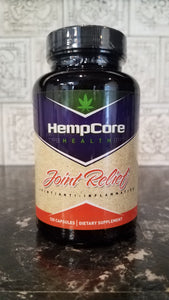 "Hemp Core Health ""Joint Relief"" Vitamins"