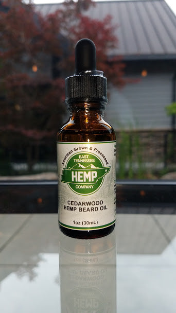 Hemp Beard Oil (Cedarwood)