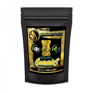 Hemp Extract Gummy Bears (THC FREE)
